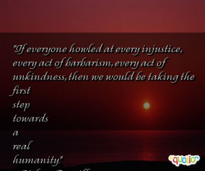 Quotes about Unkindness