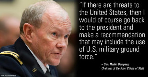 ... have been getting U.S. forces on the ground in the fight against ISIS