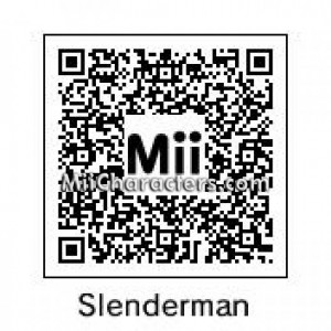 QR Code for Slenderman by EpicMuncher