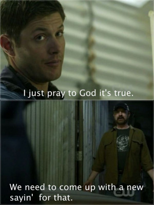 Bobby and Dean | Supernatural quotes