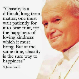 Catholic Quote to SHARE by Saint #JP2