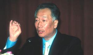 Kazuo Inamori, fundador y ex-presidente de Kyocera, Japon: