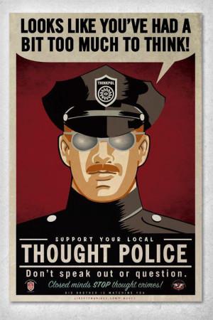 Politically Correct Police strike again