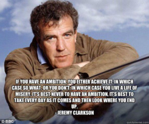 Bring back Top Gear and Jeremy Clarkson
