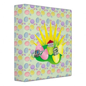 Funny Easter Egg Hunt Find Vinyl Binders From Zazzle