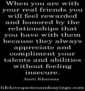 Awesome True Quotes About Life: Quotes About Real Friends In The Black ...
