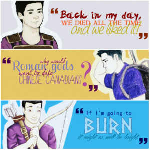 The Heroes of Olympus Frank Fan Art & Quotes