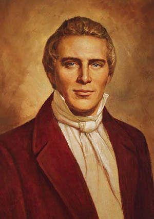 Joseph Smith, prophet and founder of the Mormon Church