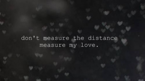 Distant love quotes sayings