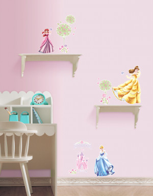 Disney Princess Castle Wall Stickers for Girls is the envy of all ...