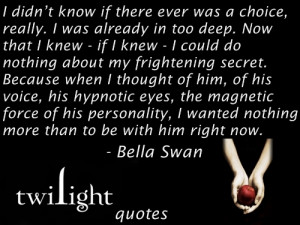 edward and bella quotes