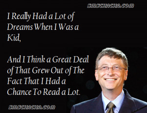 The Really Inspirational Quote By Bill Gates That Is