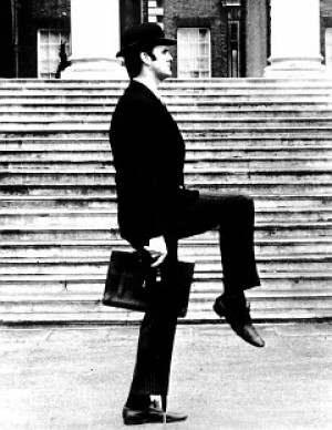 John Cleese, formerly a high-ranking official in the Ministry of Silly ...