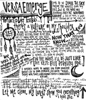 art for these lyrics rock lyric quotes from songs