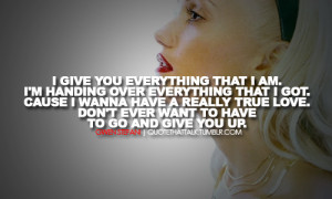 gwen stefani, quotes, sayings, true love, amazing quote