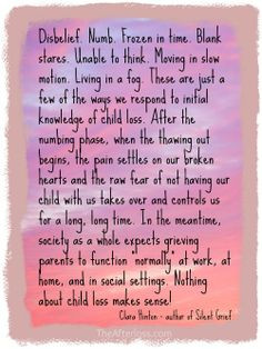 Quotes / Infant & Child Loss