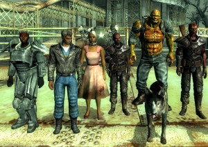 There are 8 permanent companions available to the player in Fallout 3 ...