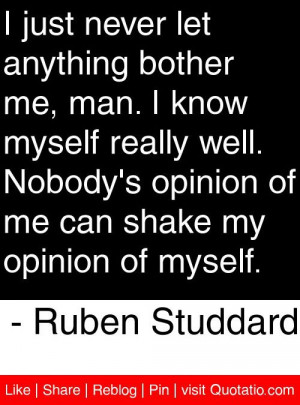 ... me can shake my opinion of myself ruben studdard # quotes # quotations