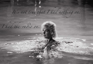 marilyn sexy flirty quotes