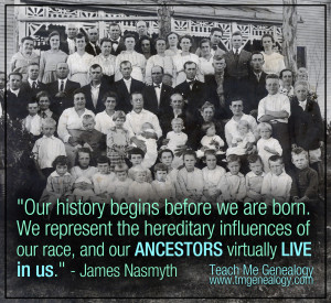 Our history begins before we are born. We represent the hereditary ...