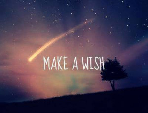 quotes, make a wish, night time, quotes, shooting star, tumblr quotes ...