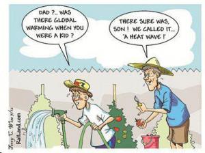 Global Warming vs Heat Waves