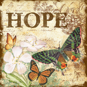 Hope And Butterflies Digital Art