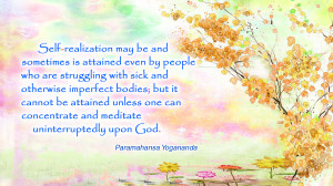 Self Realization Quotes Self-realization may.