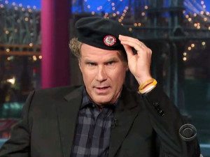Will Ferrell tips his official Olympics beret to Team U.S.A. Plus ...