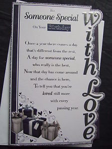 ... ~ QUALITY ~ BIRTHDAY CARD ~ MALE ~ GREAT DESIGNS with FAB VERSES
