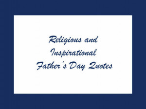 Religious Father's Day quotes