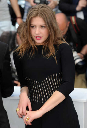 Related Pictures adele exarchopoulos