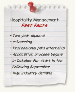 Hospitality Management diploma at SAIT - Fast Facts: two year diploma ...