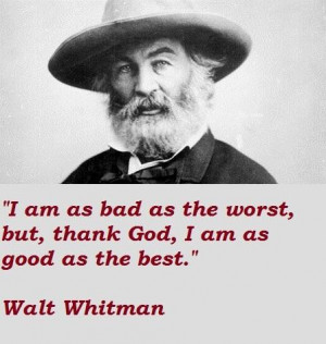 Walt whitman famous quotes 2