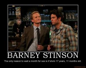 Barney Stinson Motivational Posters