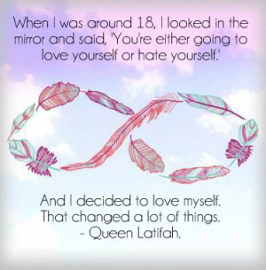 queen latifah, quotes, self love, self love quotes
