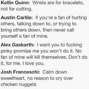 Lead Singer Quotes   via Tumblr