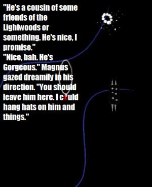 Magnus bane Quote by otakuyesweare