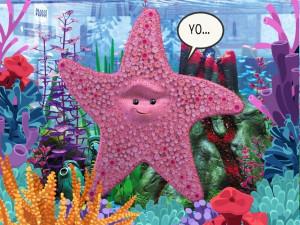 Finding Nemo Starfish Finding nemo starfish!