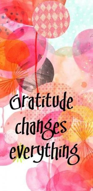 Positive Quotes - Attitude of Gratitude- What are you constantly ...