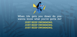 ... speak whale. That's why Dory is the best, because she's so humble