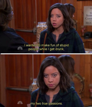 april ludgate was the best part of parks and recreation