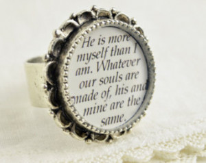 ... Heights Jewelry – Emily Bronte Quote Ring – Classic Literature
