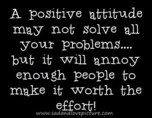 Quotes About Attitude and Effort