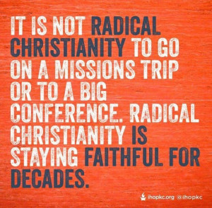 Radical Christianity
