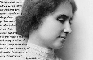 Pacifism Quotes Helen Keller