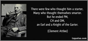 More Clement Attlee Quotes