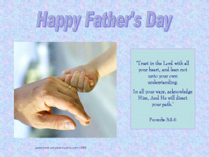 Happy Fathers Day Bible Verses