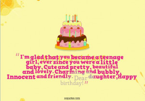 daughter birthday quotes | quote...