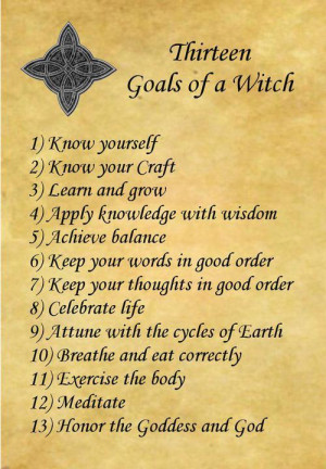 Pagan/Witchy sayings or quotes